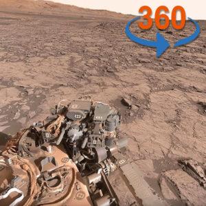 火星の360度画像